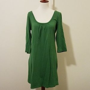 Old Navy kelly green casual cotton dress